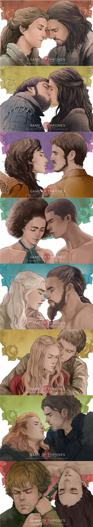 Game of Thrones 'LOVE' 2 by maorenc