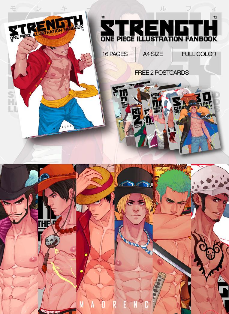 One Piece Artbook by maorenc