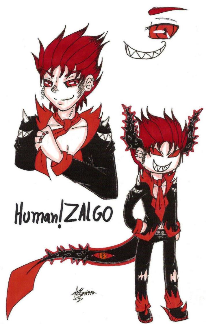 Human!Zalgo by AcidxCat on DeviantArt