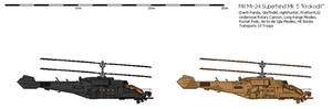 Mil Mi-24 Superhind Mk5 'Krokodil' Heavy Gunship