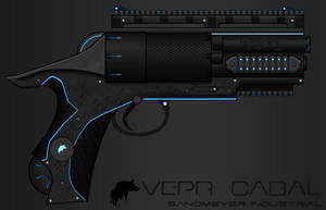 Vepr Industries - SI Cabal Eight-Shooter Revolver by prokhorvlg