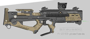 Strayeskii Firearms \\ FR29 Pallas PDW