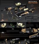 Spiros Aetherium // War Hound Battle Rifle