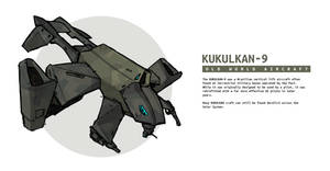 KUKULKAN-9 Strike Aircraft