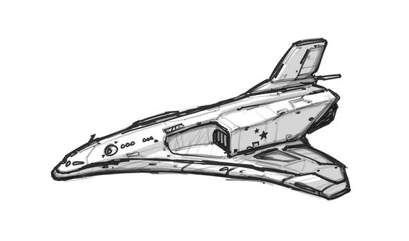 A mass-manufactured Soviet shuttle