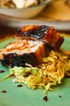 Braised Pork Belly, Cabbage