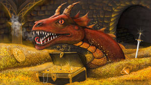 The Awakening of Smaug from The Hobbit by ChuckRondeau