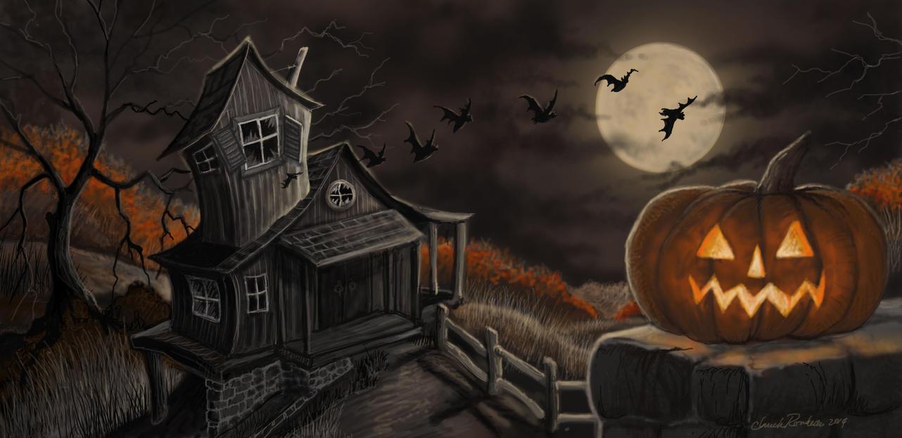 Halloween Night! by ChuckRondeau on DeviantArt