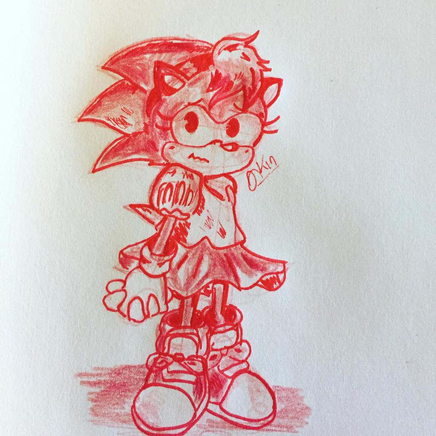 Amy doodle  by jenisnotcool