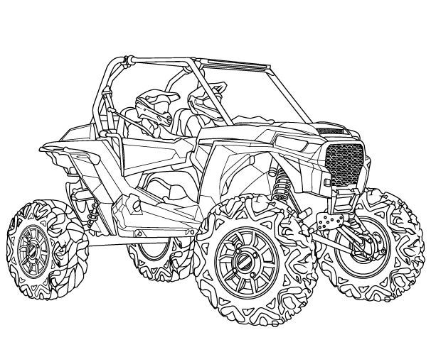 Rzr outline by LeonCortez82 on DeviantArt