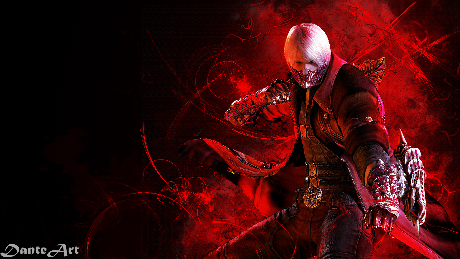 devil may cry 4 dante wallpaperdanteartwallpapers on deviantart