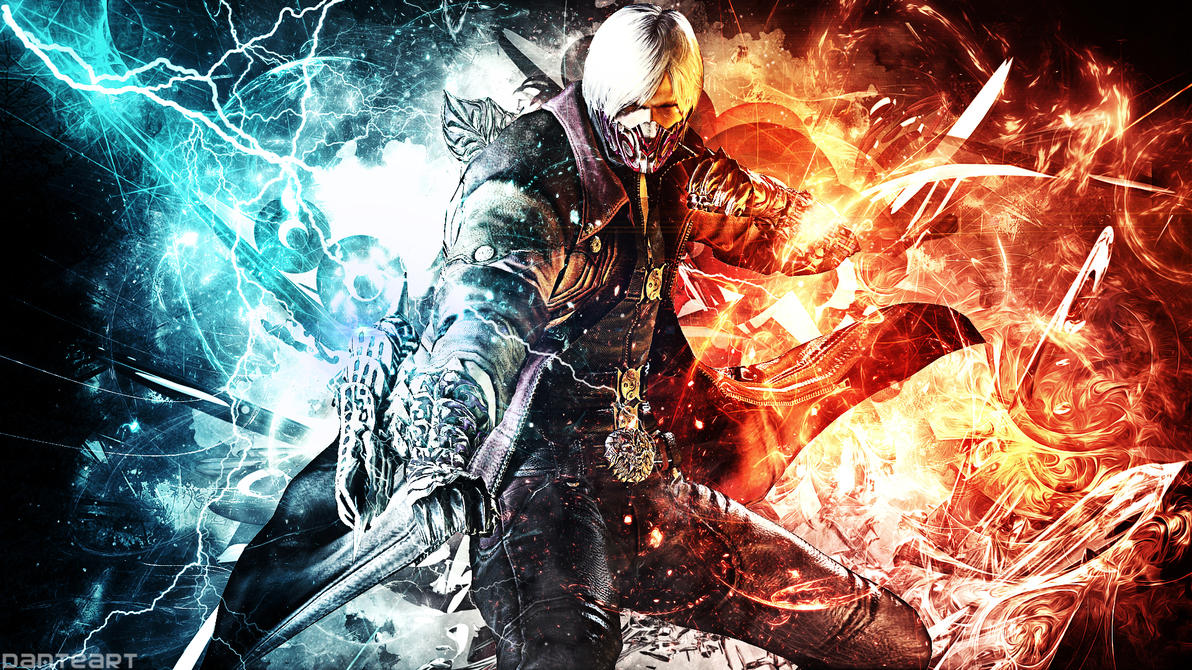 Devil May Cry Dante Wallpaper: Devil May Cry 4 Dante Wallpaper By DanteArtWallpapers On