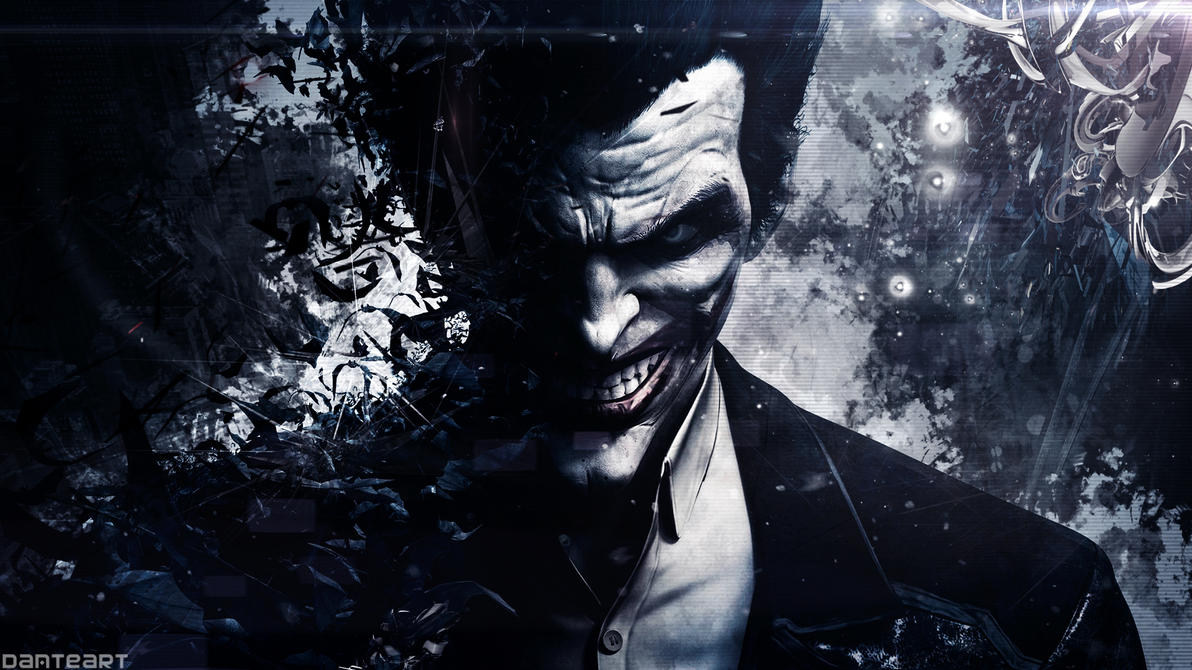 batman arkham origins joker wallpaper by
