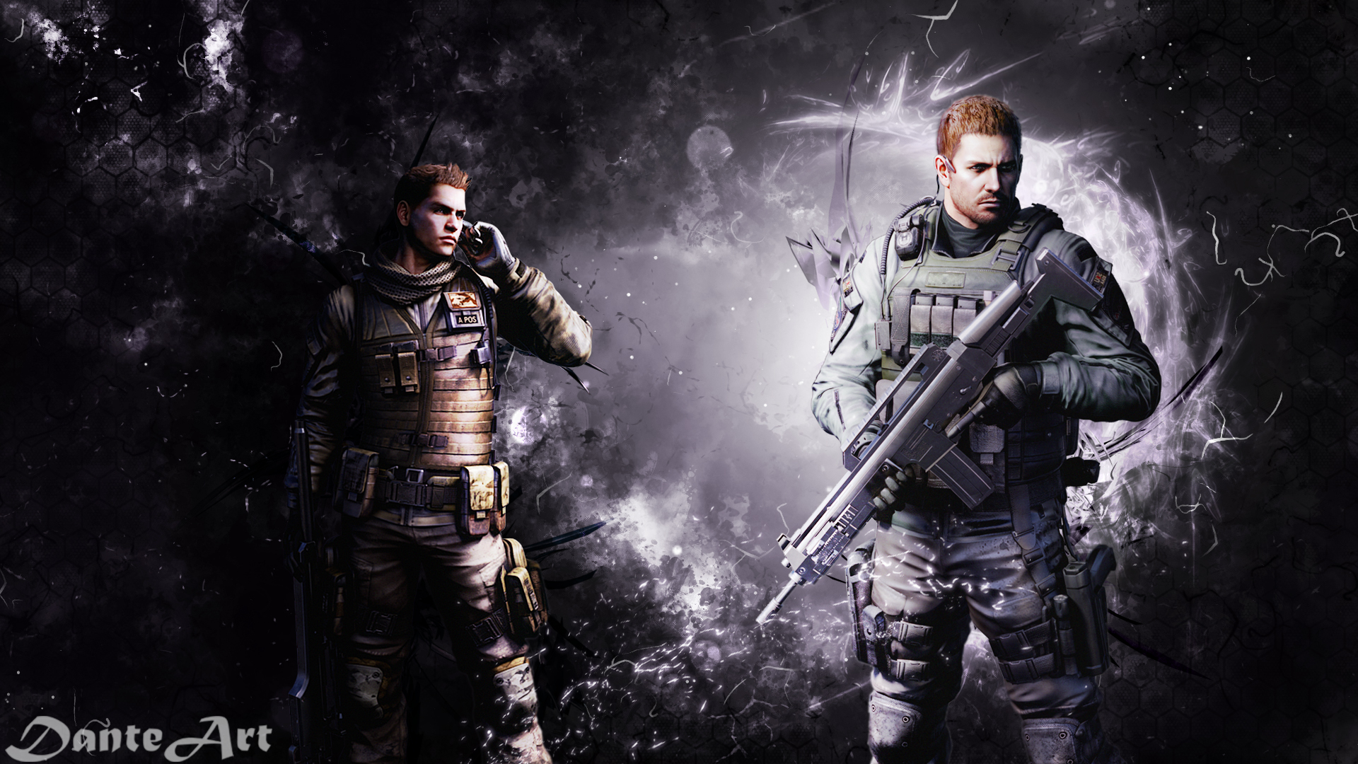 Resident Evil 6 Wallpaper By Danteartwallpapers On Deviantart