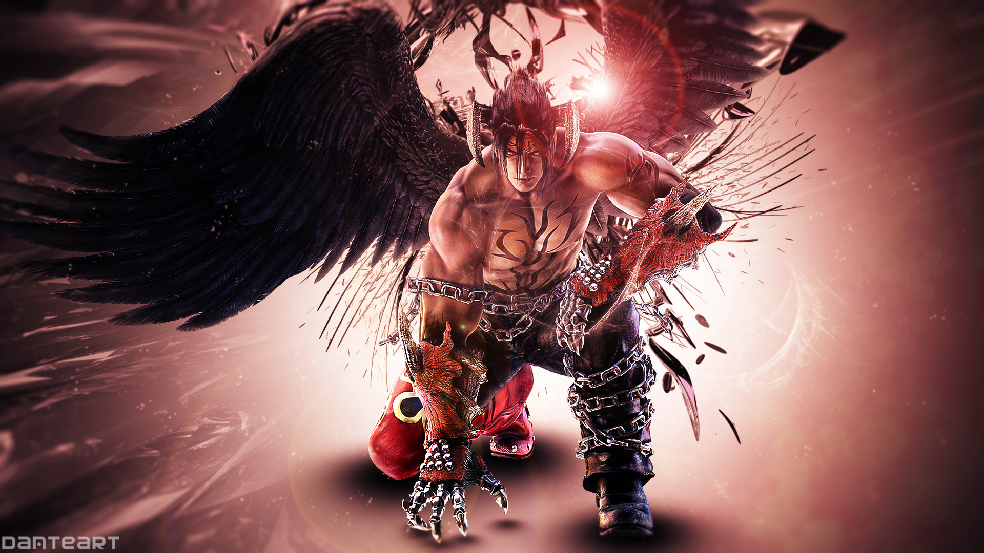 Tekken Tag 2 Devil Jin Wallpaper By Danteartwallpapers On Deviantart