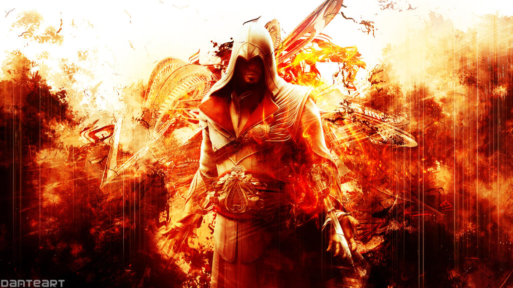 Assassin 39 s creed brotherhood wallpaper by for Assassin s creed sfondi