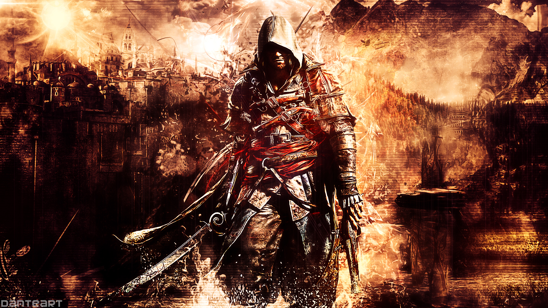 assassin 39 s creed 4 black flag wallpaper by