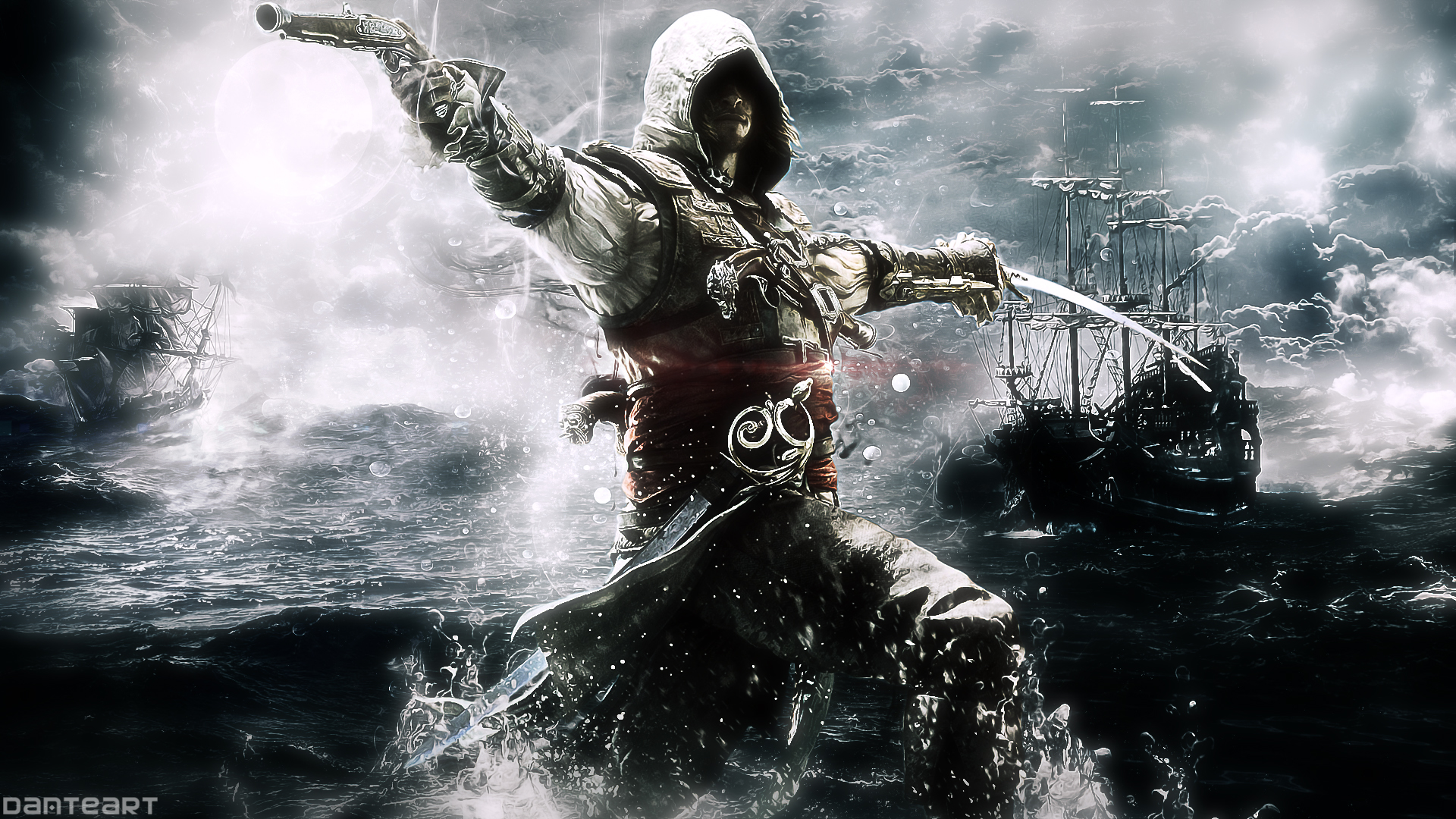 Assassin S Creed 4 Black Flag Wallpaper By Danteartwallpapers On