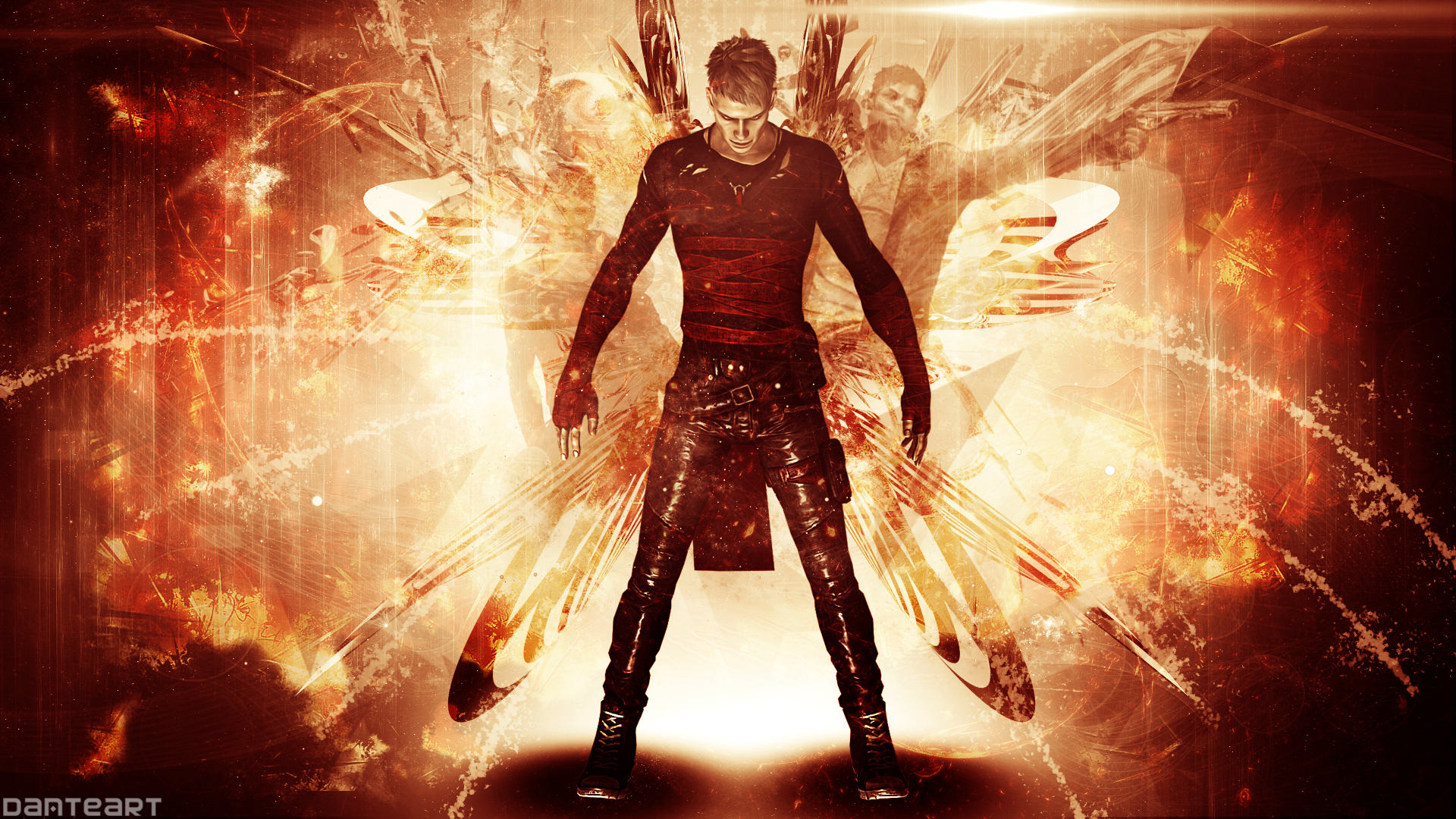 Dmc Devil May Cry Neo Dante Wallpaper By Danteartwallpapers On