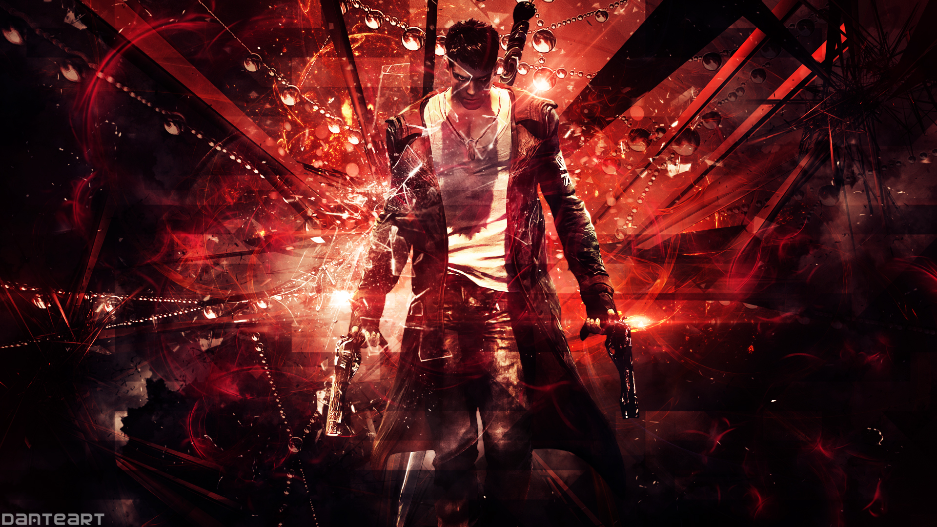 Dmc Devil May Cry Dante Wallpaper By Danteartwallpapers On Deviantart