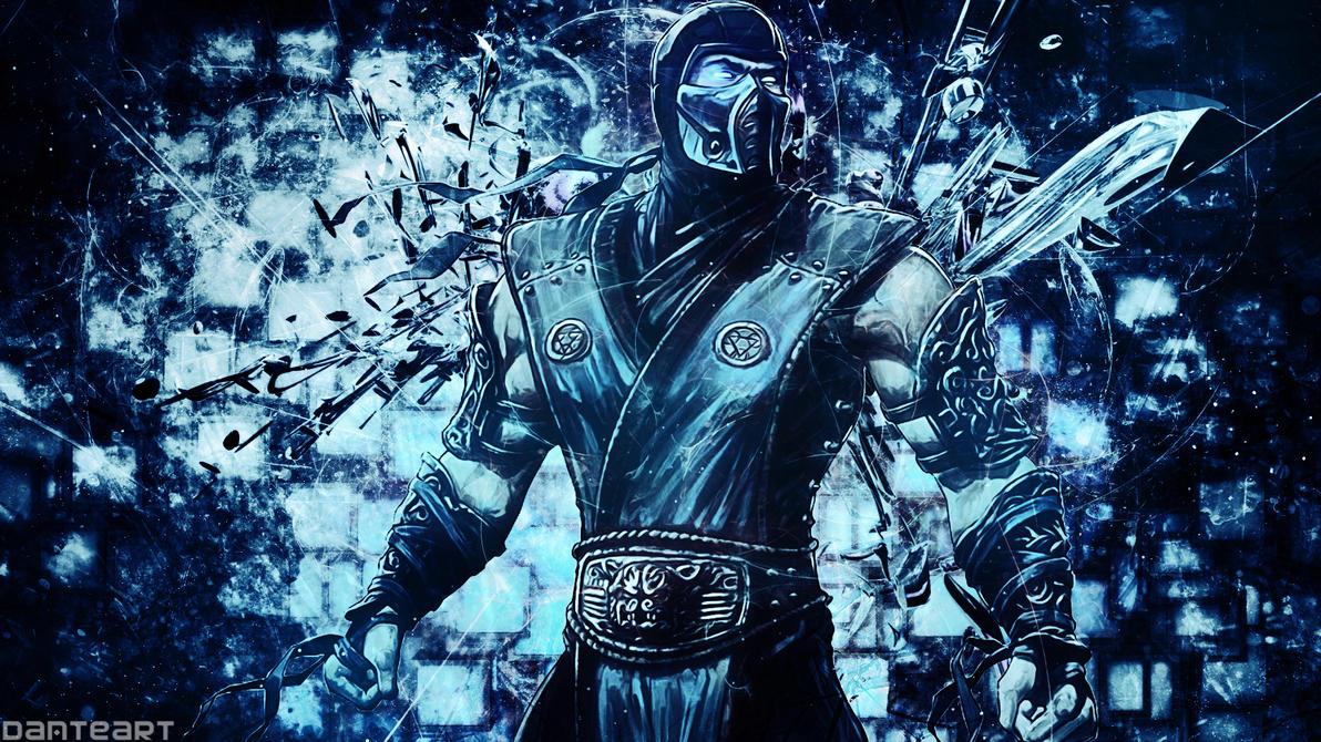 Mortal Kombat Sub Zero Wallpaper By DanteArtWallpapers