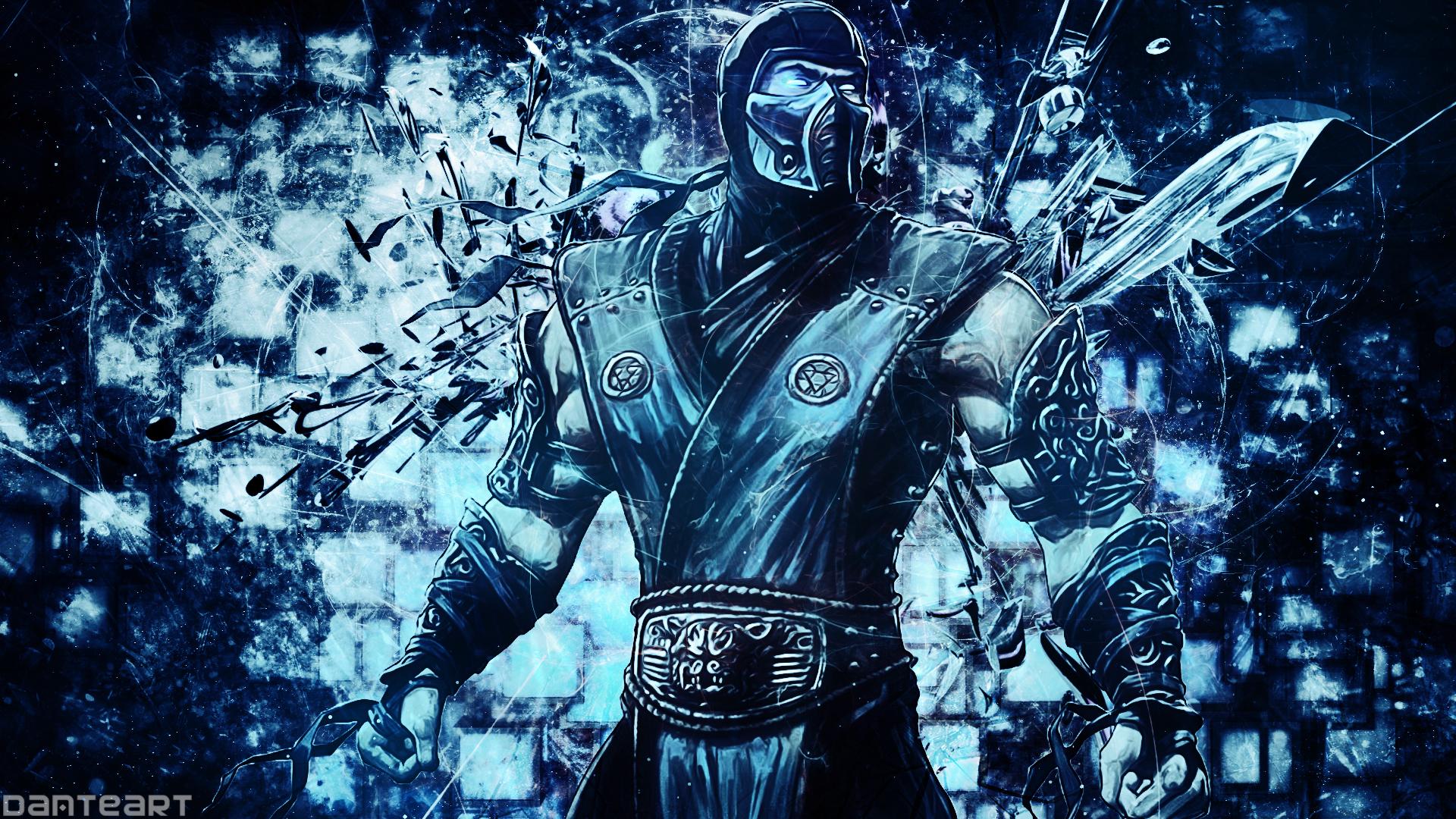 Mortal Kombat Sub Zero Wallpaper By Danteartwallpapers On Deviantart