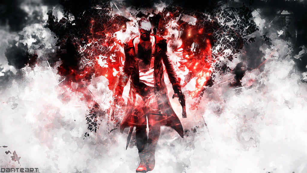 Devil May Cry Dante Wallpaper: DmC Devil May Cry Definitive Edition Wallpaper By
