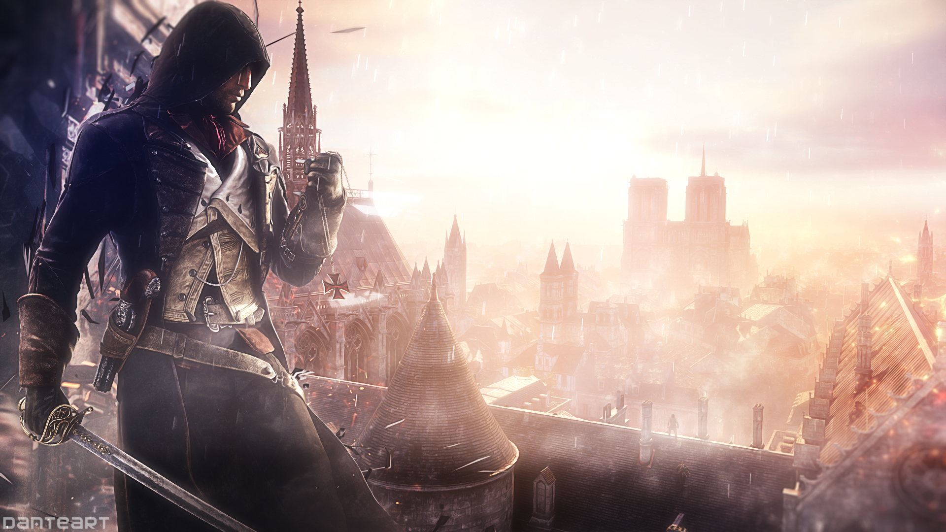 Assassin's Creed Unity Wallpaper by