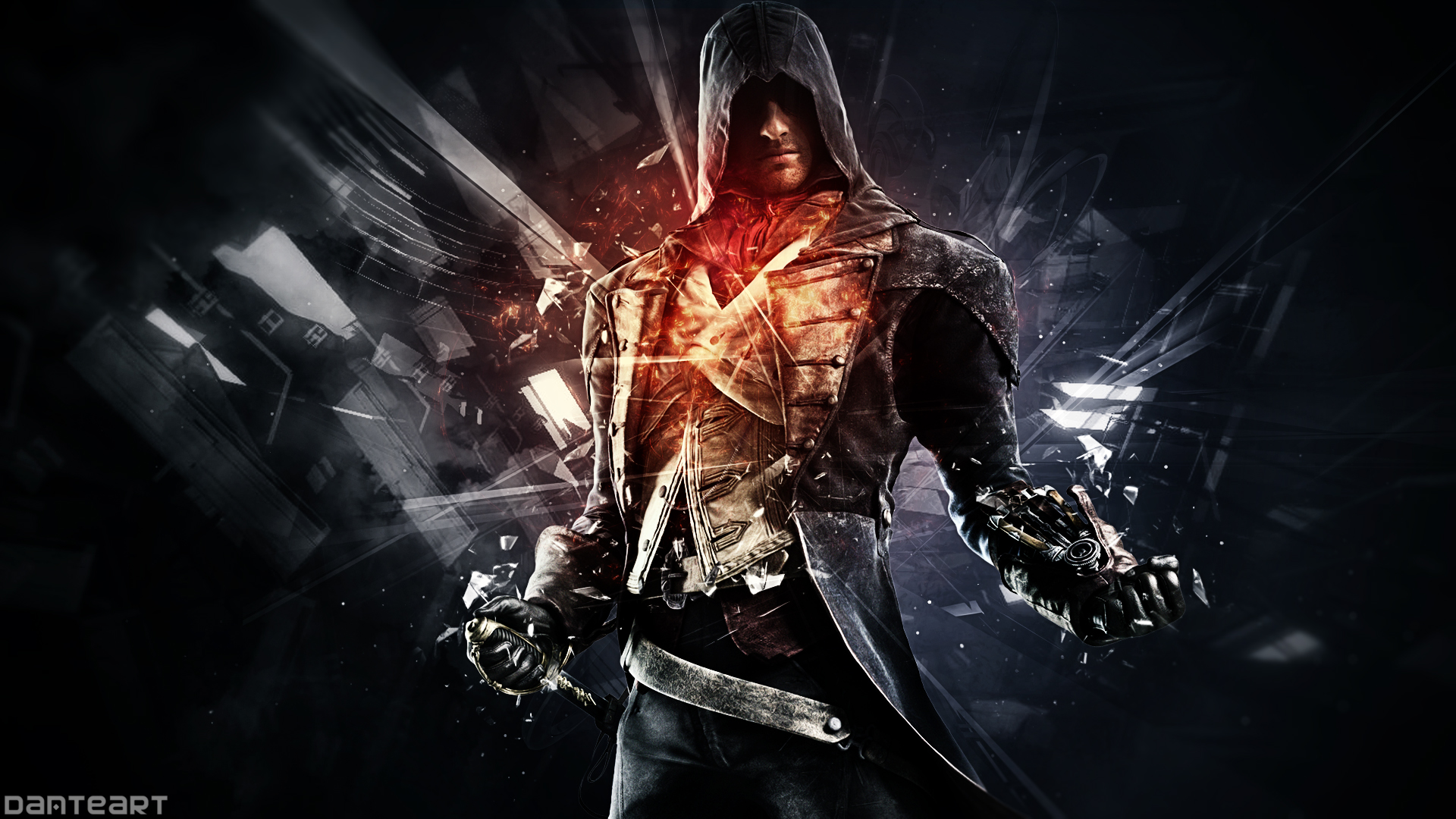 Assassin S Creed Unity Wallpaper By Danteartwallpapers On Deviantart