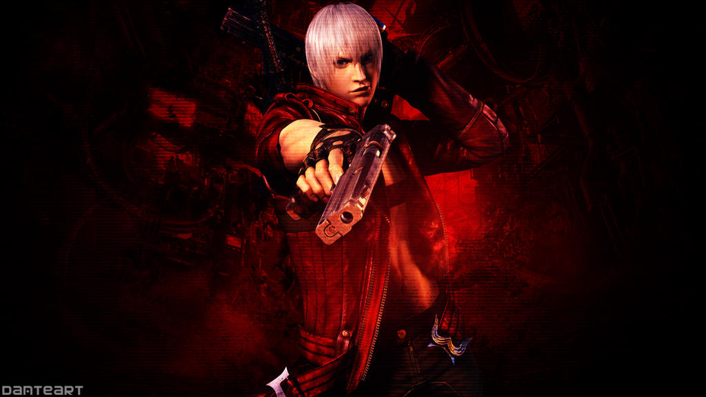 Devil May Cry Dante Wallpaper: Devil May Cry 3 Dante Wallpaper By DanteArtWallpapers On
