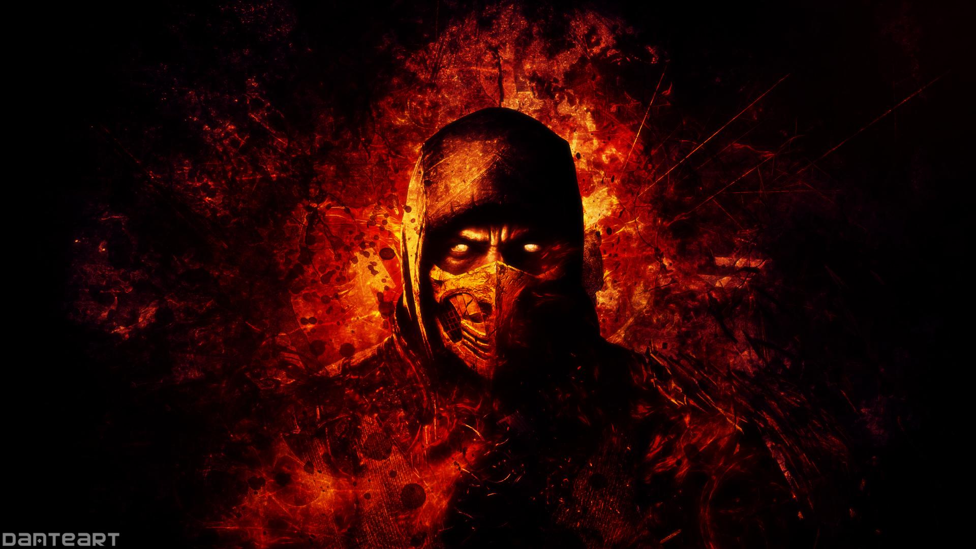 Mortal Kombat X Scorpion Wallpaper By Danteartwallpapers On Deviantart
