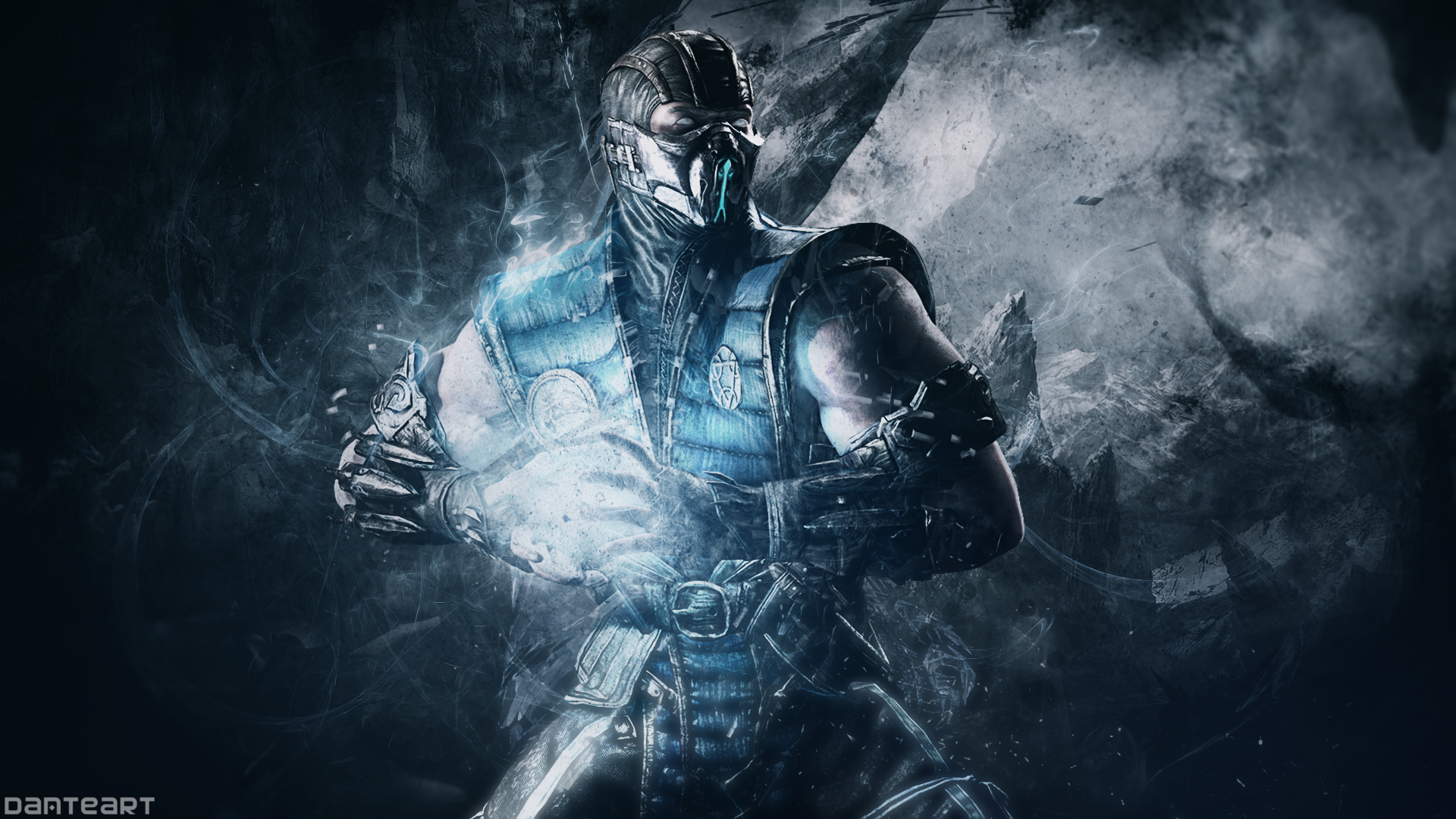 Mortal Kombat X Sub Zero Wallpaper By Danteartwallpapers On Deviantart