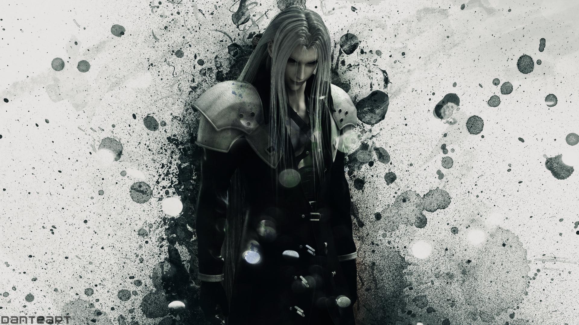 Crisis Core Final Fantasy Vii Sephiroth Wallpaper By