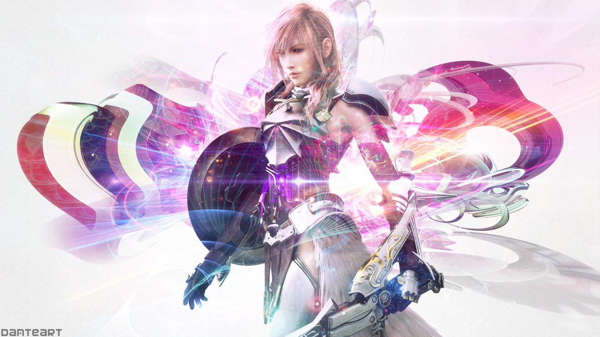 final fantasy xiii 2 lightning wallpaperdanteartwallpapers on
