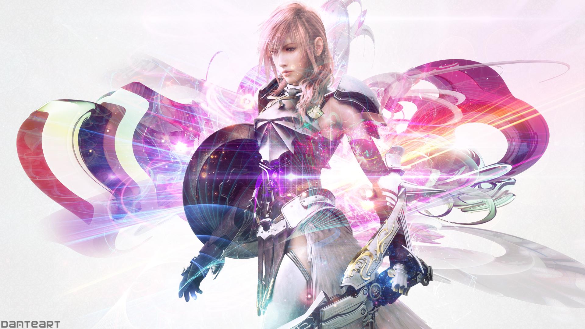 Final Fantasy Xiii 2 Lightning Wallpaper By Danteartwallpapers On