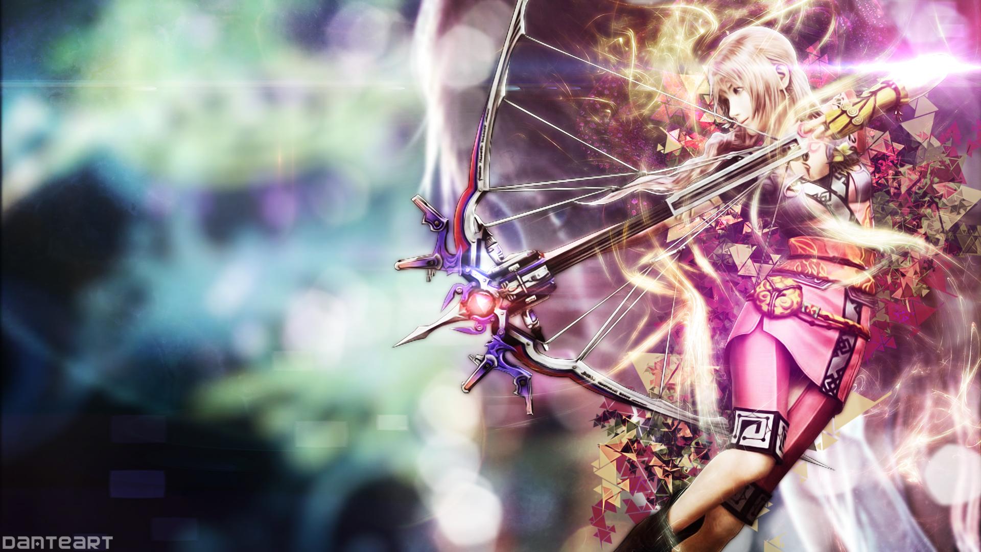 Final Fantasy 13 2 Wallpaper: Final Fantasy XIII 2 Serah Wallpaper By DanteArtWallpapers