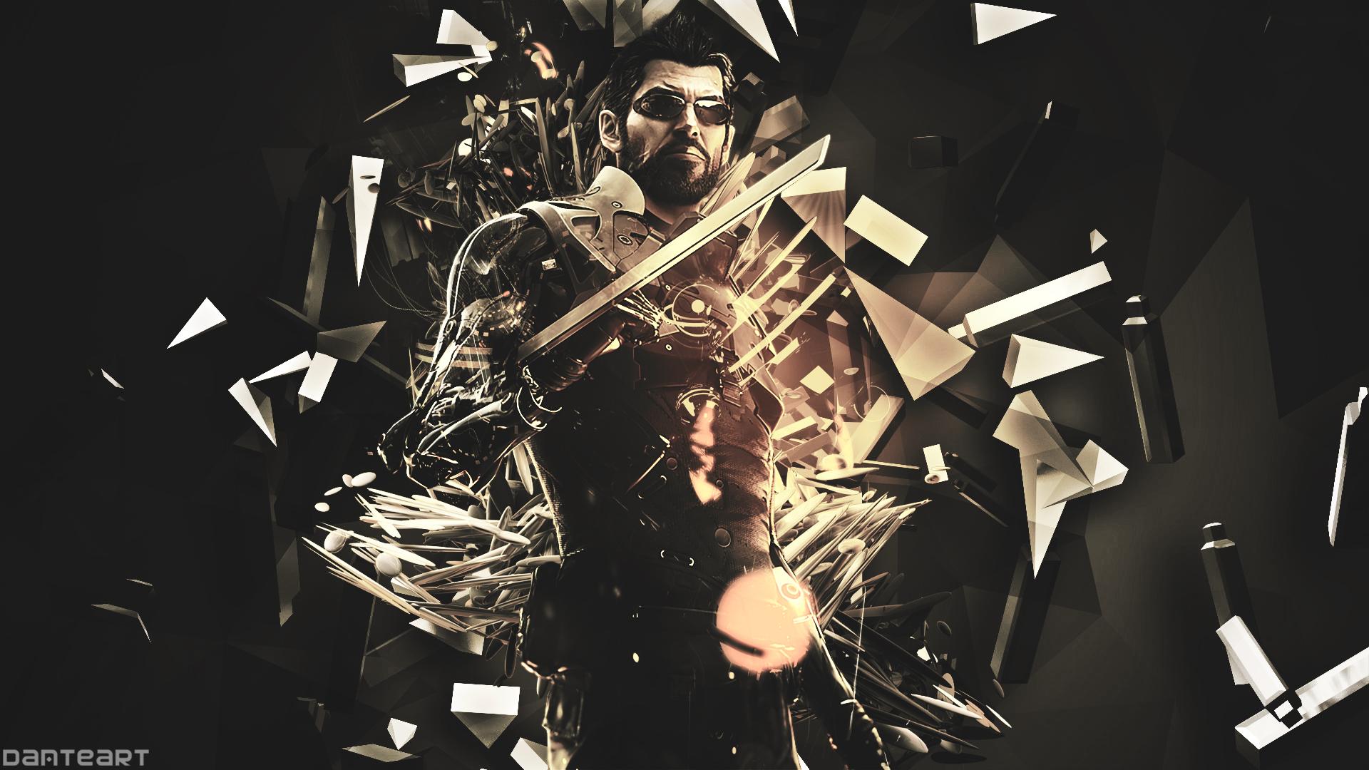 Deus Ex Mankind Divided Wallpaper By Danteartwallpapers On Deviantart