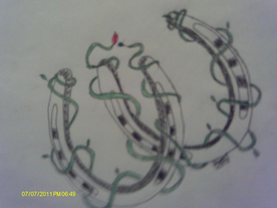 horseshoe tattoo drawing wwwimgkidcom the image kid