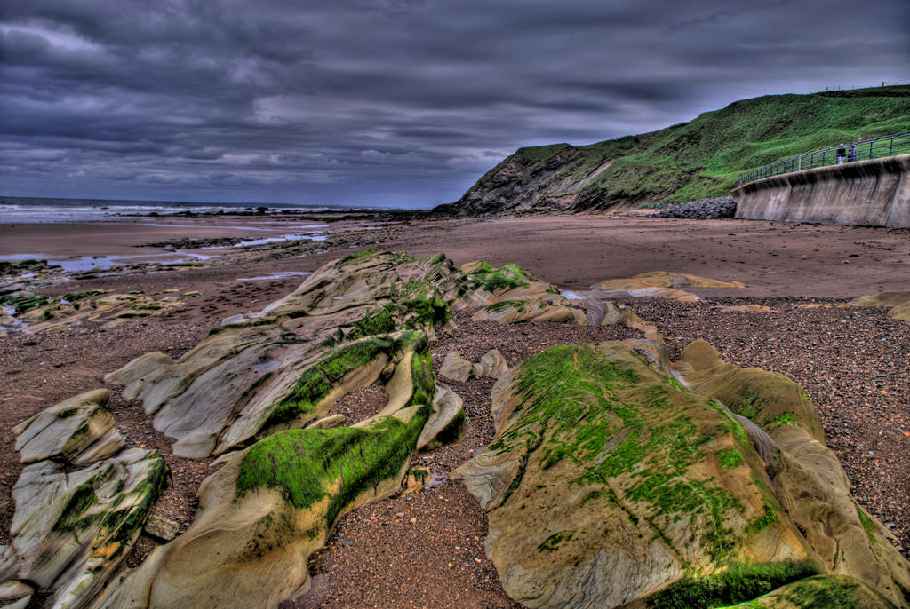 Berwick-upon-Tweed Beach V by adischordantrhyme