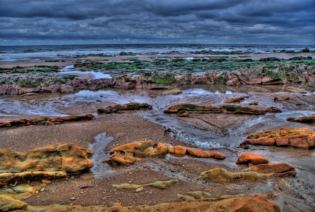 Berwick-upon-Tweed Beach VI by adischordantrhyme