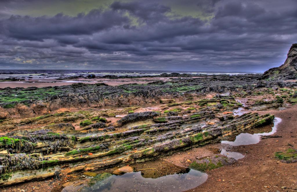 Berwick-upon-Tweed Beach VII by adischordantrhyme