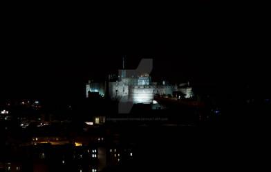 Edinburgh Castle by Night