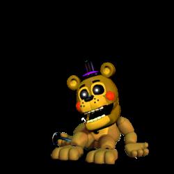 Adventure Toy Golden Freddy By LeTaiNguyen86