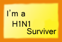H1N1 Surviver Stamp by xXThe-Ice-ReaperXx