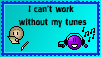 can't work without music stamp by xXThe-Ice-ReaperXx