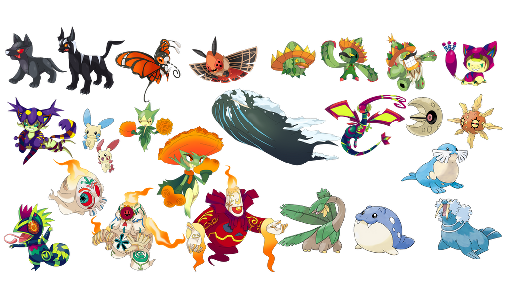 hoenn pokemon for xicome forms updated by thatoneleo