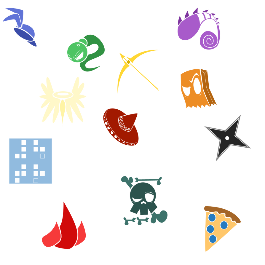 Fighter Fight Fair Icons (updated) by That-One-Leo on DeviantArt