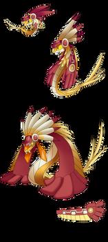 Shiny Carboa Charcoatl Quetzalcoal