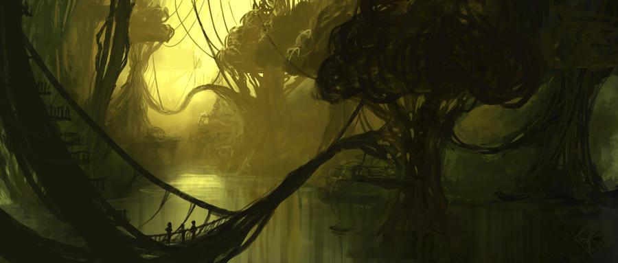 Swamp City by jjpeabody