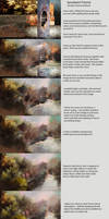 Speed Paint Tutorial (Texture Chaos Method) by jjpeabody